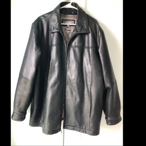 Men's Wilson's Leather jacket black xl Thinsulate